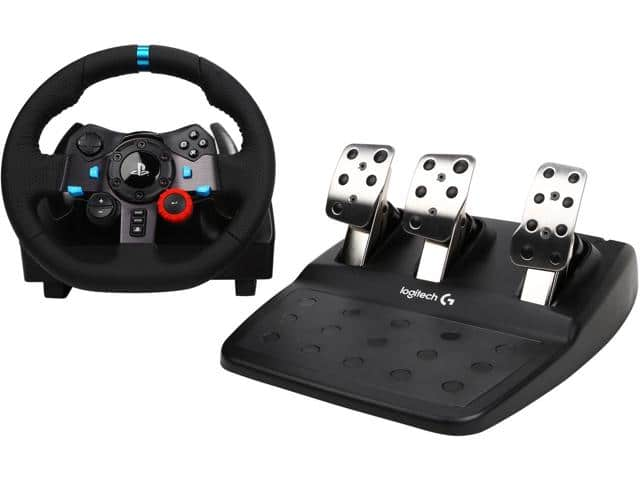 Logitech G29 Driving Force Racing Wheel for PlayStation 3 & 4 $244.99 w/masterpass promo / fs @ nf $245