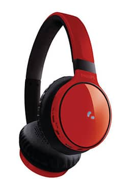 Philips SHB9100 Bluetooth On-Ear Headphones - Red $27.99 fs @ nf