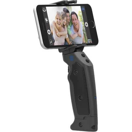 GRIP&SHOOT Bluetooth Smart Grip Wireless Control for iPhones and Android, Bk (includes FREE Joby Tripod - exp. 11/27/17) $80 fs @ adorama