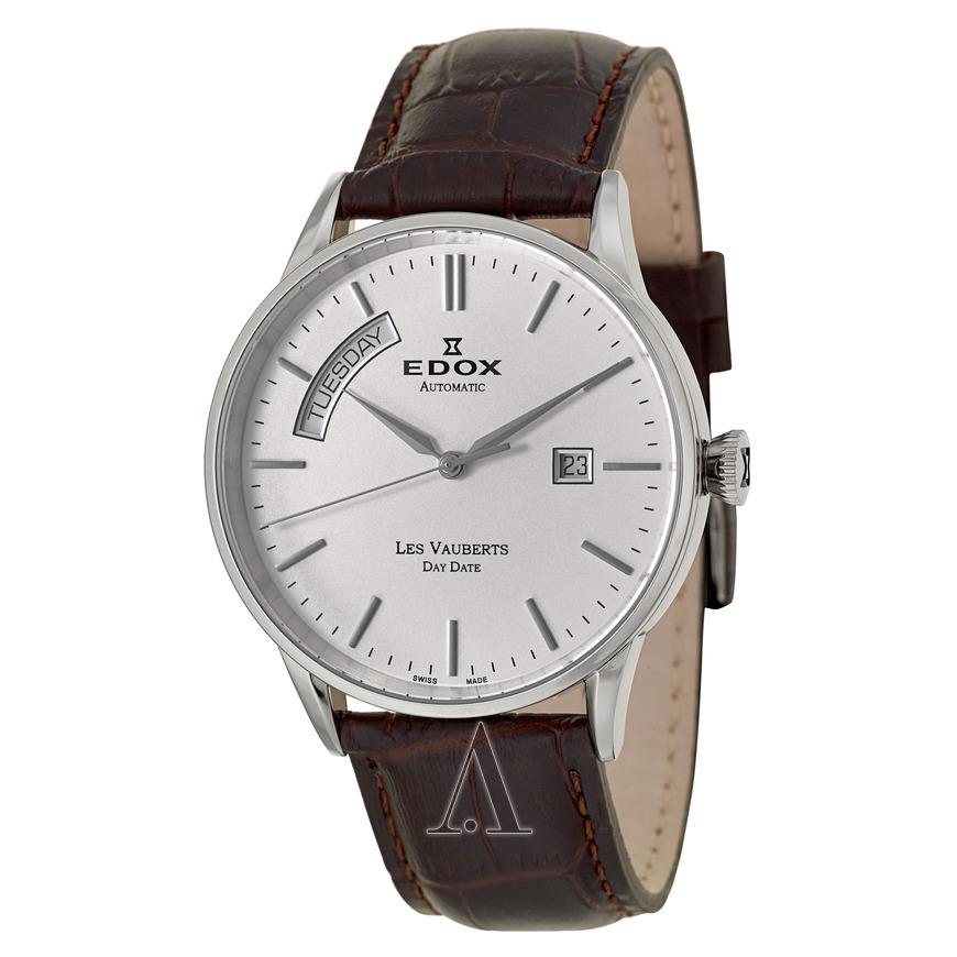 EDOX Men's Les Vauberts Day Date Automatic Watch  $279 fs @ ashford