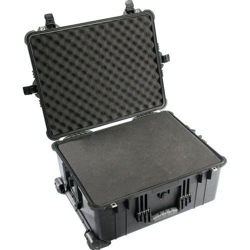 Pelican 1610 Watertight Hard Case with Cubed Foam & Wheels - Black $169.95 fs @ adorama, amazon or b&h