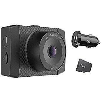 """YI 2.7K Ultra Dash Cam with 2.7"""" LCD Screen, Dual-Core Processor, Voice Control, MEMS 3-axis G-Sensor, and Night Vision $75 ac / fs @ amazon"""