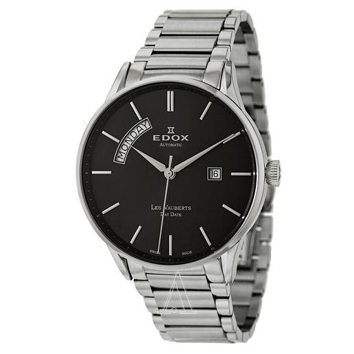 EDOX Men's Les Vauberts Day Date Automatic Watch $359 ($309 w/AMEX offer - YMMV - on amex!) or Les Vauberts Automatic Watch $349 fs @ ashford