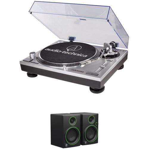 Audio-Technica Consumer AT-LP120USB w/MACKIE CR3 SPEAKERS $240 fs @ B&H