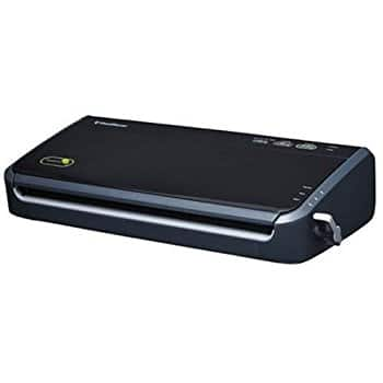 FoodSaver FM2000-FFP Vacuum Sealing System with Starter Bag/Roll Set, Black $37.50 fs @ amazon