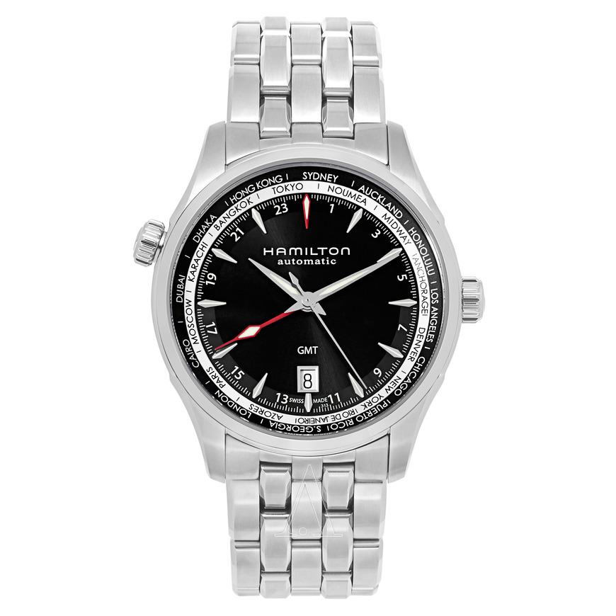 HAMILTON Men's Jazzmaster GMT Auto Watch $499 fs @ ashford