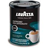 Lavazza Decaffeinated Espresso Ground Coffee, Medium roast, 8-Ounce Cans (Pack of 4) $16.68 ac / fs w/s&s @ 15% @ Amazon