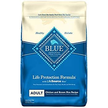 BLUE Life Protection Formula Adult Dry Dog Food / Chicken & Brown Rice Recipe / 30lbd $25.89 ac / fs w/s&s @10% @ Amazon (+20% off if you create PRIME pet profile!)