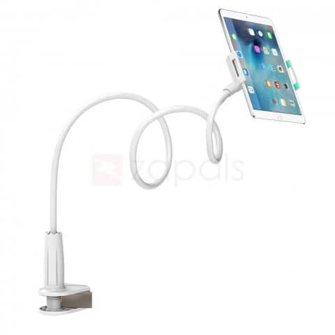 Flexible Long Arms Tablet Phone Holder Stand for iPad Smartphones and More $5 fs @ zapals