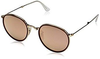 Ray-Ban Men's ORB3517 Round Sunglasses $99.99 + $20 credit / fs @ amazon