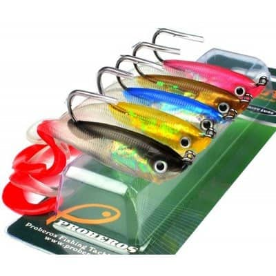 Colorful Soft Fish Road Bait  -  COLORMIX  $4 fs @ gb