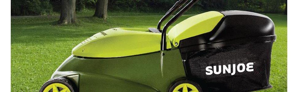 Sun Joe MJ401E Mow Joe 14-Inch 12 Amp Electric Lawn Mower With Grass Bag $47.99 fs @ amazon