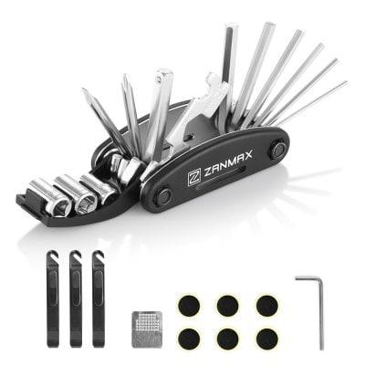 ZANMAX 3201 16 in 1 Bicycle Cycling Mechanic Repair Tool Kit $6 ac / fs @ gb