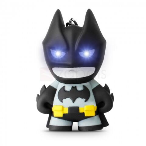 Mini Batman Key Chain with LED Light + Sound $0.55 ac / shipped @ zapals