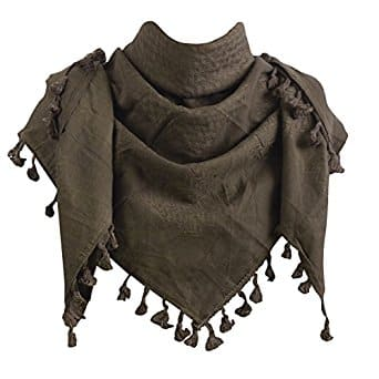 Explore Land 100% Cotton Solid Color Scarf Wrap Soft Face Cover Protect 47 x 47 inch from $4.99 ac / sss eligible @ amazon