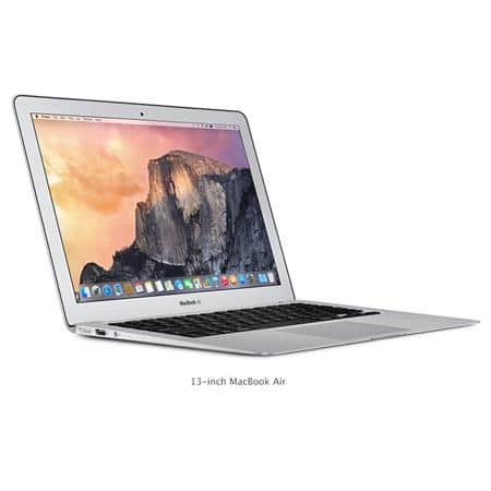 "Apple 13.3"" MacBook Air; 1.6GHz Dual-Core Intel Core i5, 8GB RAM, 256GB Flash Storage, Intel HD Graphics 6000 (Early 2015) $929 fs @ adorama"