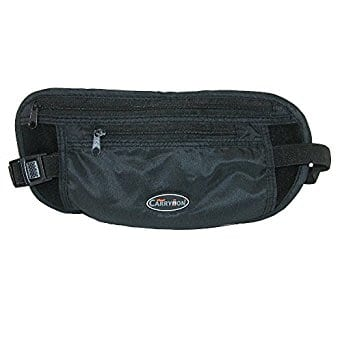 Miami Carry On Travel Security Money Belt $1.39 add on item @ amazon