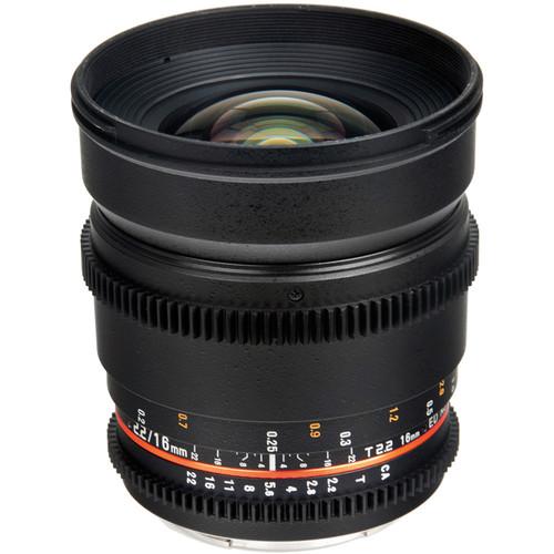 Bower 16mm T2.2 Cine Lens for Nikon F Mount $199 fs @ b&h