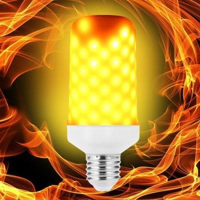 LED Flame Light Bulb Emulation Flaming Decorative Lamp / E26  $4.99 ac / fs @ gb
