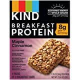 KIND Breakfast Bars, Honey Oat, Gluten Free, 1.8 Ounce, 32 Count $10.13 fs w/s&s @15% on 5 or more s&s items @ amazon