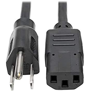 Tripp Lite Standard Computer Power Cord 10A,18AWG from $1.81 add on item @ amazon