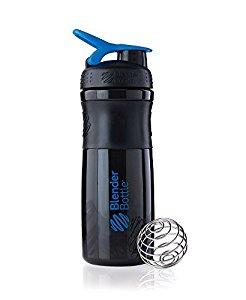 BlenderBottle SportMixer Tritan Grip Shaker Bottle, Black/Blue, 28-Ounce $4.99 sss eligible @ amazon or bbb