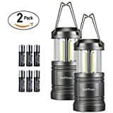 2pk. / Etekcity Camping Lantern Led Collapsible Magnetic Lights with 6 AA Batteries, ... (Upgraded CL30) $11.99 ac / sss eligible @ amazon