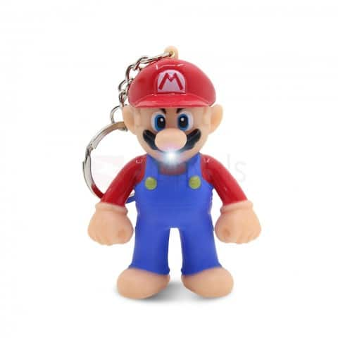 Super Mario LED Keychain with Sound $0.99 ac / shipped @ zapals