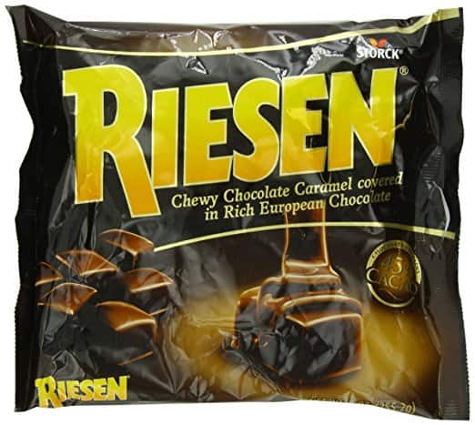 Riesen Chewy Chocolate Caramels - 9oz $2.33 @ target or amazon (add on item)