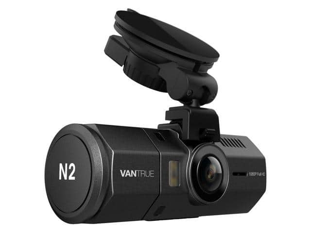 """Vantrue N2 Dual Dash Cam - 1080P FHD +HDR Front and Back Wide Angle Dual Lens In Car 1.5"""" LCD Dashboard Camera... Parking Mode & Super Night Vision $109.99 fs @ nf"""