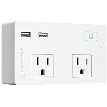 Etekcity Wall Mount Surge Protector with Dual USB Charger, ... 5610 Joules, 1875W/15A $9.99 ac / sss eligible @ amazon