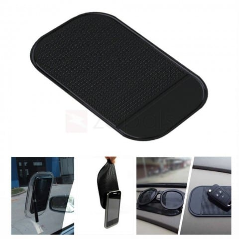 Anti-slip Car Dashboard Sticky Silicone Pad for Mobile Phone - Random Color $.030 ac / shipped @ zapals $0.3