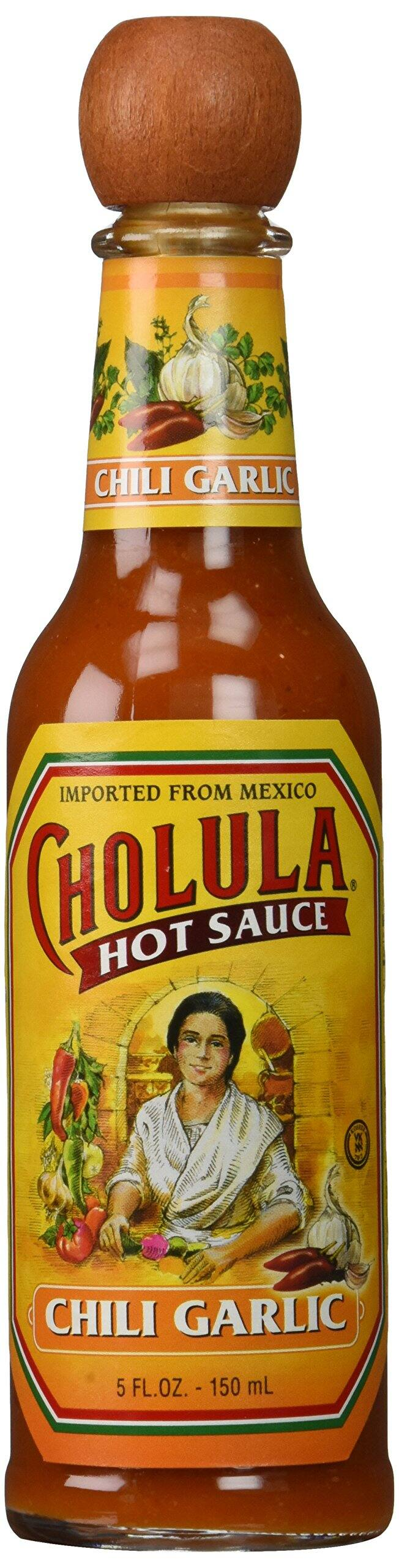 Cholula Green Pepper Hot Sauce 5 Fl Oz (Pack of 4) $10.76 sss eligible @ amazon