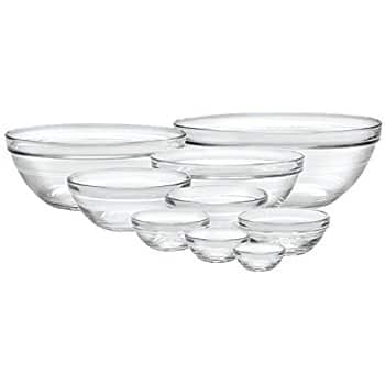 Luminarc 10-Piece Set Stackable Bowl Set $15.87 sss eligible @ amazon / OOS but orderable