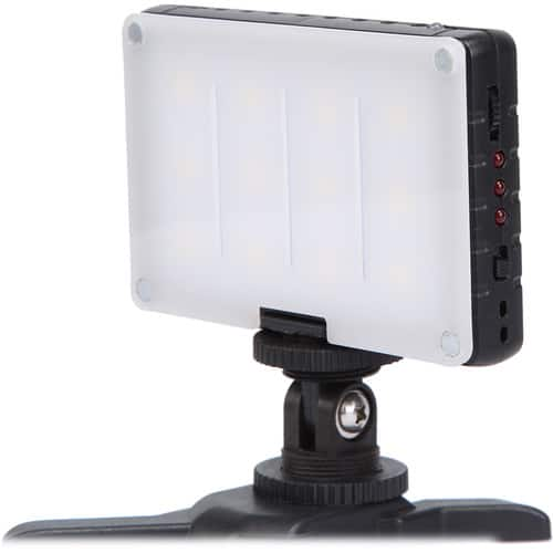 GVB Gear Compact Daylight On-Camera Light with Built-In Battery $29.95 fs @ b&h or amazon or amazon via GVB $29.25 ac !