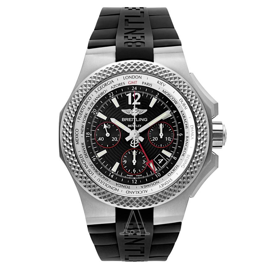 BREITLING Men's Bentley GMT Light Body Watch $5,295 ac / fs @ ashford $5295