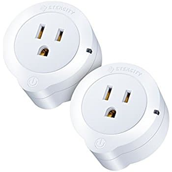 Etekcity 2 Pack Voltson Wi-Fi Smart Plug Mini Outlet with Energy Monitoring, Works with Amazon Alexa Echo and Google Assistant, No Hub Required $23.99 ac / fs @ amazon