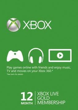Xbox Live 12 Month Gold Membership (Xbox One/360) - Global $44.99 @ gd
