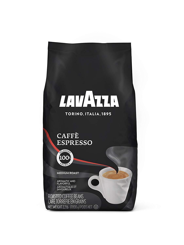 Lavazza Caffe Espresso Whole Bean Coffee Blend, Medium Roast, 2.2 Pound Bag $10.35 (or less! $9.26 @ 15%) fs w/S&S @ amazon