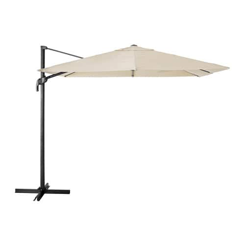 "IKEA SEGLARÖ 129"" Folding Rectangular Outdoor Cantalever Umbrella - $99 in-store only. (Reg. $189)."