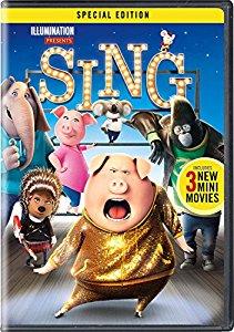 Sing DVD $1.96 Amazon