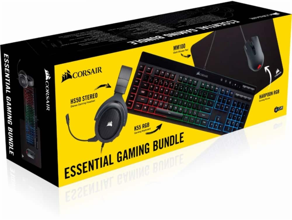 CORSAIR - Essential Wired Gaming Bundle $99