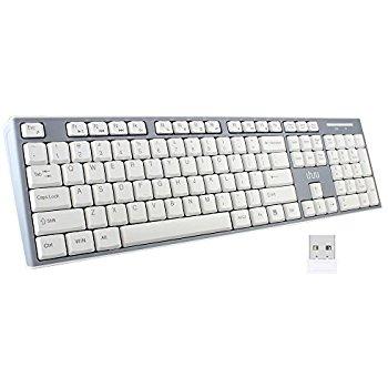 Uhuru Full size Wireless Keyboard $8.99 Amazon Prime Free S/H