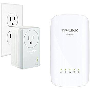 TP-Link AC750 Powerline Gigabit Wi-Fi Kit , 2-Kit (AC750) $41.28