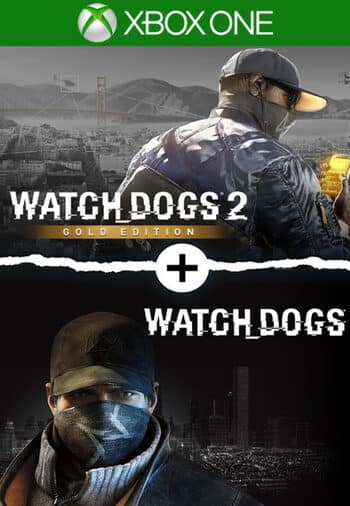 Watch Dogs 1 + Watch Dogs 2 Gold Editions Bundle (Xbox One digital) $14.91 @ Eneba
