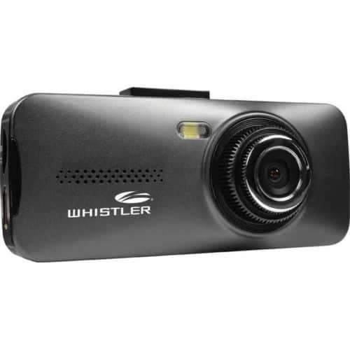 Whistler D11VR Windshield Mount Dash Camera with 2.7 LCD Monitor $26.99