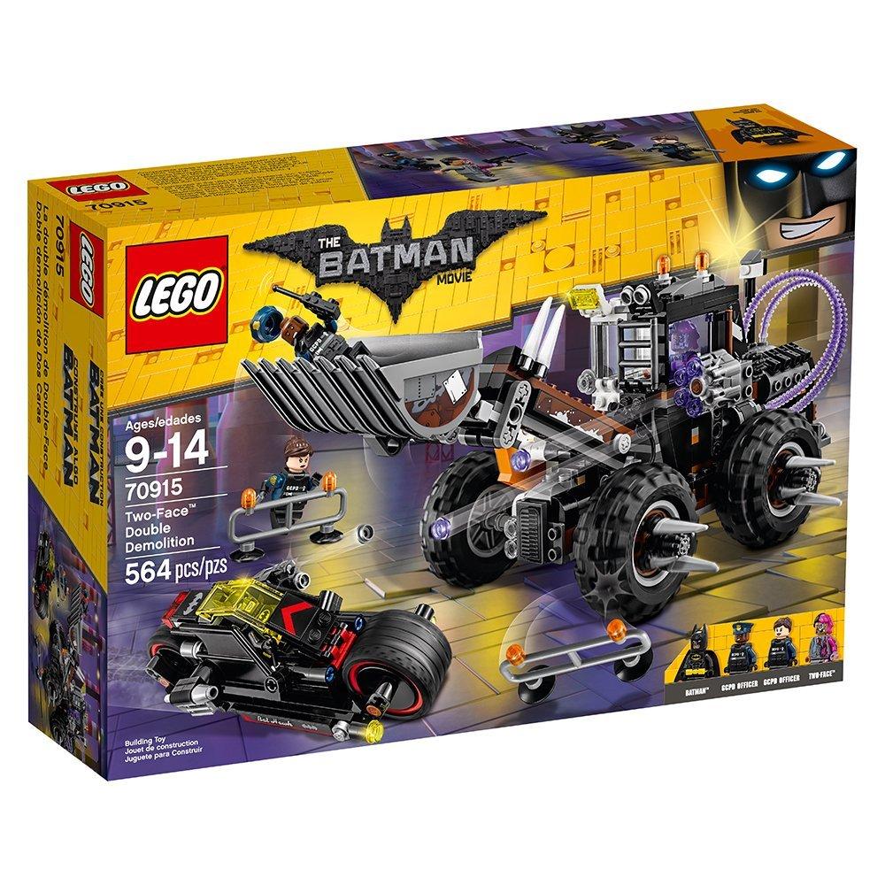 LEGO BATMAN MOVIE Two-Face Double Demolition 70915 Building Kit $35.99