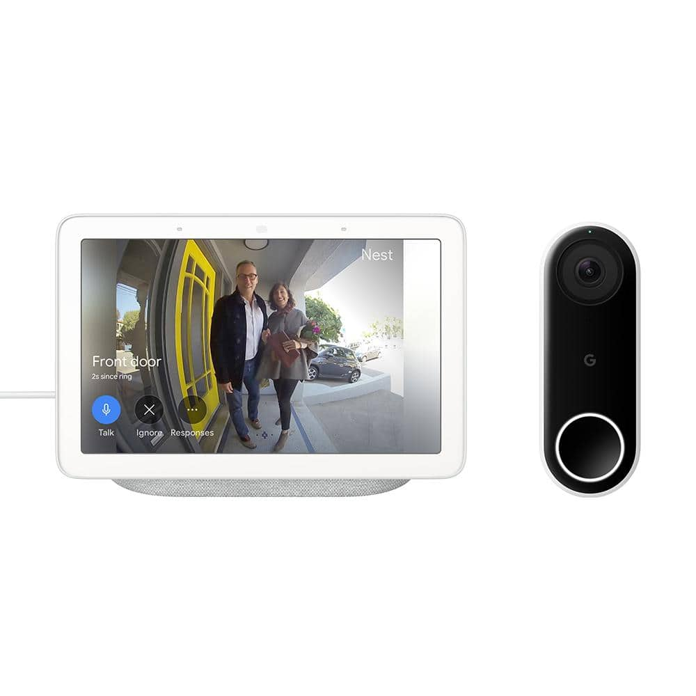 Nest Hello Doorbell with Free Nest Hub (Chalk or Charcoal!) $229