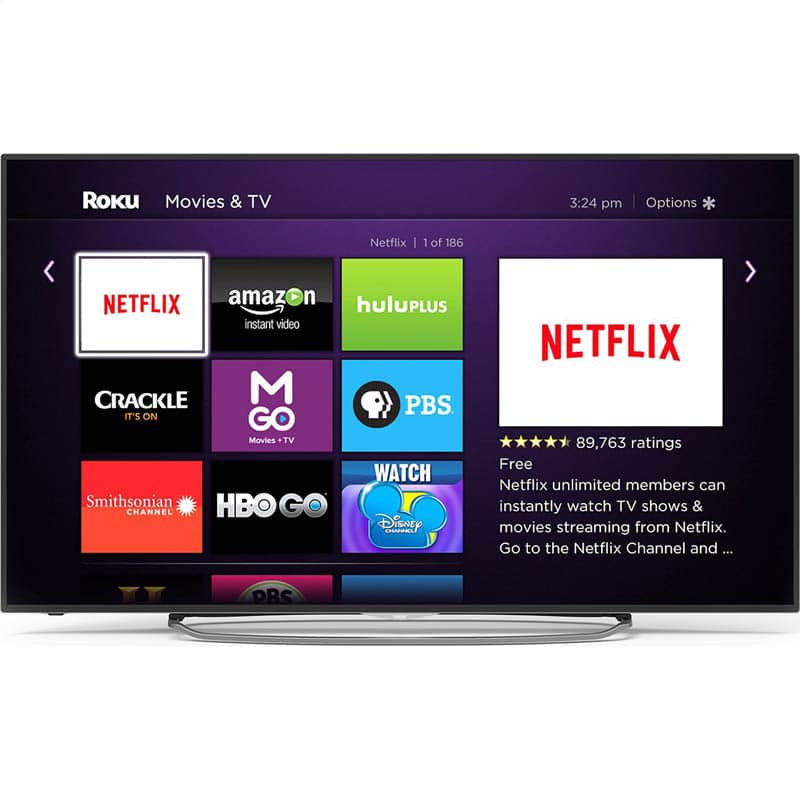 """RCA 65"""" 120hz 4K LED Roku television..$799 Free shipping(for now) with promo code"""