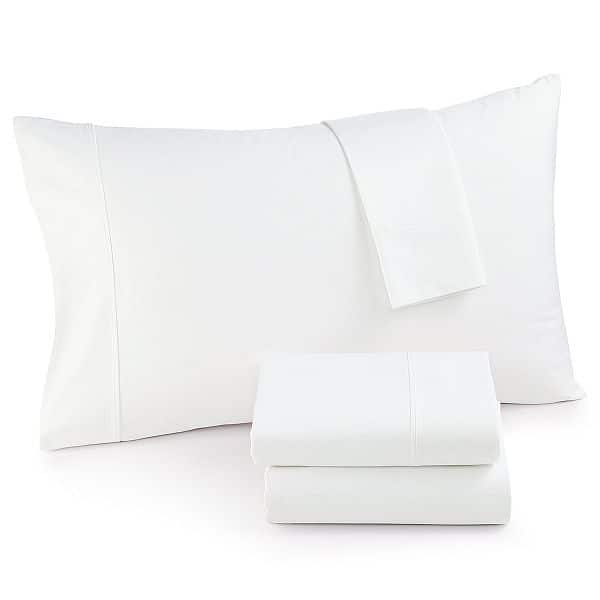 $39.99 620 thread count 100% cotton solid color sheet set..Queen..King..CA King....Macys